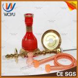 Tubo de tubo simples Tubo de mão de vidro Shisha Acessórios