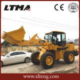 中国2 CBMのバケツが付いている3.5トンの車輪ブームのローダー