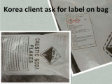 O GV testou flocos da soda cáustica do alcalóide de 99%