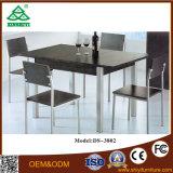 Mesa de comedor de madera de colores Conjuntos de madera de encanto Mesa de comedor y sillas