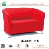 تصميم جديد يعيش غرفة أثاث لازم مع جلد أريكة