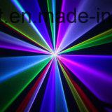 luz laser de la animación a todo color de 2.4W RGB