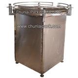 Chaîne d'emballage de plate-forme de fonctionnement de Turnable d'acier inoxydable
