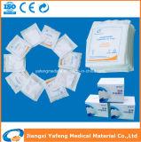 7.5cmx7.5cm medizinische chirurgische Kompresse-Gaze steril