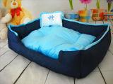 Denim-Gewebe-Hundebett u. Haustier-Bett