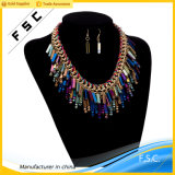 Jóias de imitação O mais recente design Bohemian Style Multicolor Custom Jewelry Set