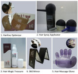 Naturalmente fibras do cabelo da queratina da fibra do cabelo do produto do cuidado de cabelo