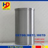 Forro H07D do cilindro das peças de motor usado para Hino