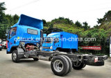 La luz de 4X4 Volquete con chasis de camión 4X4