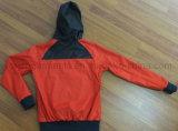 Revestimento impermeável ao ar livre do piloto da roupa da chuva das senhoras (OWS14)