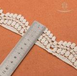 100% mestieri bianchi/costume/Larp/cucire del merletto 4cm dell'occhiello dell'increspatura del cotone del merletto del cotone all'ingrosso