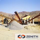 石造りの生産ライン、砕石機のプラント