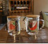 Comodidades para preparar chá e café de alta de borossilicato Mason Cup Copa do vidro