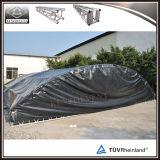 ألومنيوم إنارة جملون يحنى سقف جملون مرحلة قوس سقف جملون