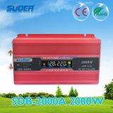 Inversor modificado 2000W da potência de onda do seno de Suoer (SDB-2000A)