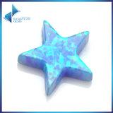 도매가 파란 별 잘린 합성 단백석 느슨한 구슬