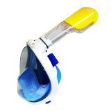 Mascherina antinebbia respirante libera panoramica della presa d'aria di nuoto di immersione con bombole del silicone del fronte pieno di Smaco 180