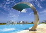 Cortina de água popular de piscina de aço inoxidável