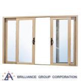 Подгонянная раздвижная дверь алюминия высокого качества