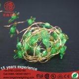 Mini LEIDENE Shell van de Kerstboom de Lichten van het Koord van het Koper met de Doos van de Macht van de Batterij