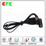 USB 케이블 공장을%s 가진 4pin Pogo Pin 자석 연결관
