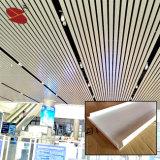 Dekorative Breiten-Aluminiumstreifen-Decke der Decken-300mm für Station