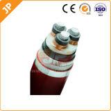 Aluminio/cobre XLPE (Cable cruzado el cable de alimentación con aislamiento de polietileno)
