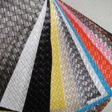 Cuero sintetizado 2017 del PVC para la tapicería del sofá (HL19-01)