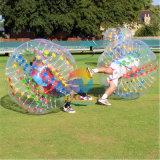 Bola Loopy de la burbuja, balón de fútbol de parachoques, bola de Zorb de la carrocería