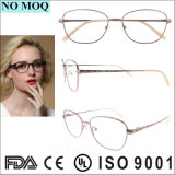 Design Popular Titanium Eyewear Óculos de Óptica