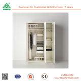 Für hängenden Kleidung-Schlafzimmer-hölzernen Garderoben-Schrank vervollkommnen