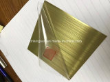 装飾のために金属板PVDの金のローズの金のステンレス鋼の着色されたシート