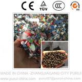 HDPE 병은 2단계 플라스틱 알갱이로 만드는 기계 얇은 조각이 된다