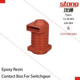 isolador da resina Epoxy da caixa do contato de 12kv 630A-4000A