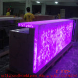 Prefab Venda por atacado LED Nightclub Bar Counter Furniture para venda comercial Corian Nightclub Bar