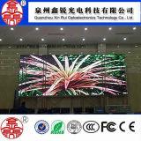Écran polychrome de publicité d'intérieur de qualité de l'Afficheur LED P6