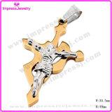 Het Nieuwe Ontwerp Jesus Cross Jewelry Necklace Pendant van de manier