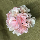 Flor de madera artificial coloreada hecha a mano de Sola (SFA39)