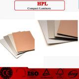 HPL/het Gelamineerde Materiaal van de hoge druk; Type HPL; 4*8 melamine Gelamineerde Raad