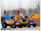 Excavador eléctrico del bebé de los cabritos con pilas al por mayor de los juguetes mini