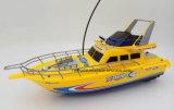 Perfecte Klaar om de Witte Gele Boot van de Snelheid RC van het Stuk speelgoed in werking te stellen Model
