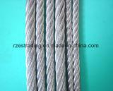 36ヤードは鋼線ロープに電流を通した
