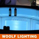 Couleurs lumineuses par vente chaude changeant le compteur de guide optique de la boîte de nuit DEL