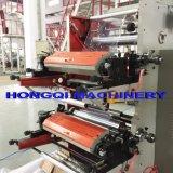 Aniloxの陶磁器のローラーが付いているプラスチックフィルムのFlexographyの印字機