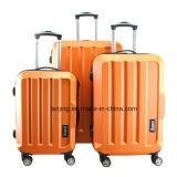 Эбу АБС моды эффектных твердотельных жестких багаж чемоданы тележки пакеты установки крышки багажника