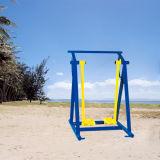 El cuerpo de la máquina de remo de grúa de construcción de equipos de gimnasia al aire libre