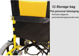 Cadeira de rodas automatizada da energia eléctrica de Topmedi assento para pés destacável