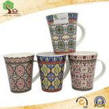 I cinesi eccellenti di qualità progettano le tazze di ceramica della decalcomania