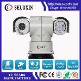 소니 18X 급상승 100m 야간 시계 와이퍼를 가진 지적인 적외선 차 감시 CCTV 사진기