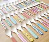 FDA Approuvé Bamboo Fiber Kids Spoon (YK-A9006)